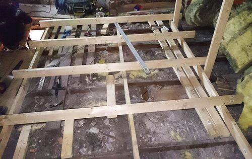 Installing the correct sub-frame