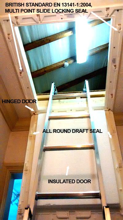 Brand new loft hatch