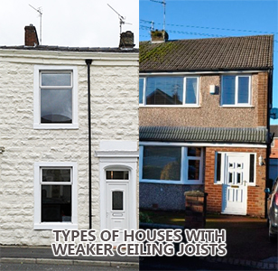 Houses With Weak Ceilings