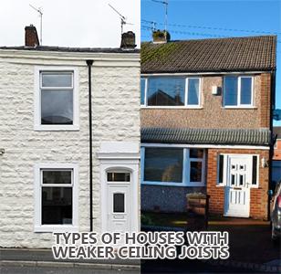 Houses With Weak Ceilings
