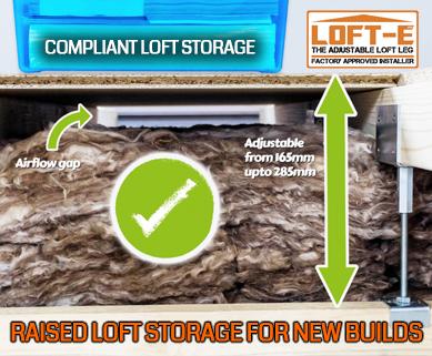 The ultimate raised loft storage solution LOFT-E®