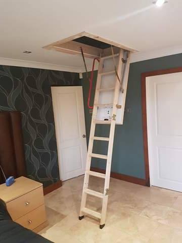 Timber Hatch & Loft Ladder