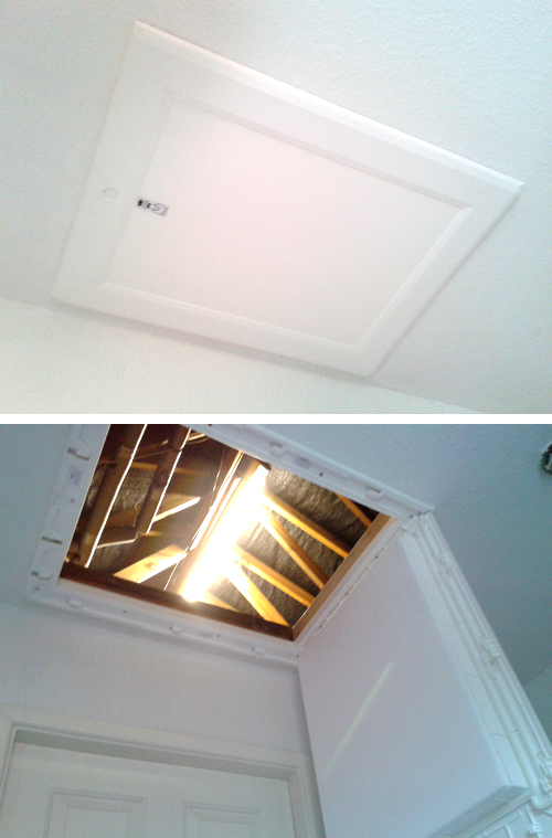 New energy efficient loft hatch