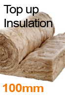 100mm Loft Insulation Top-up Service from only £8 p/m² with a loft storage package